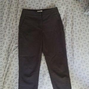 H&M Black Ankle-length Skinny Dress Pant